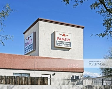 Storage Units for Rent available at 7185 East I-10 Eb Frontage Road, Tucson, AZ 85756 Photo Gallery 1