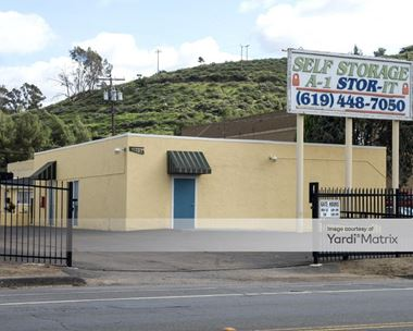 Storage Units for Rent available at 11493 Woodside Avenue, Santee, CA 92071