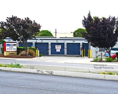Storage Units for Rent available at 24801 Industrial Blvd, Hayward, CA 94545
