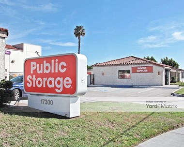 Image for Public Storage - 17300 Newhope Street, CA