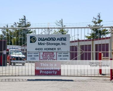 Storage Units for Rent available at 4400 Horner Street, Union City, CA 94587