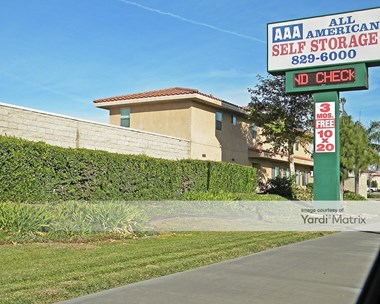 Image for AAA All American Storage - 14918 Foothill Blvd, CA