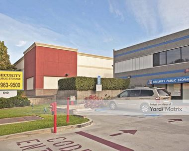 Storage Units for Rent available at 540 West Foothill Blvd, Glendora, CA 91741