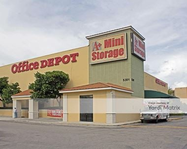 Storage Units for Rent available at 5301 West 20th Avenue, Hialeah, FL 33012