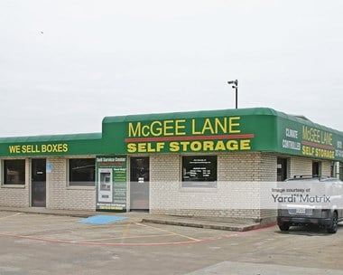 Image for McGee Lane Self Storage - 1850 McGee Lane, TX