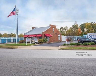Storage Units for Rent available at 3709 Gateway Drive, Portsmouth, VA 23703
