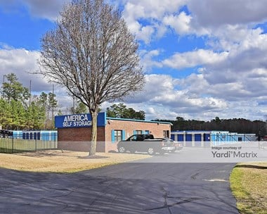 Storage Units for Rent available at 9500 Capital Blvd, Wake Forest, NC 27587 Photo Gallery 1