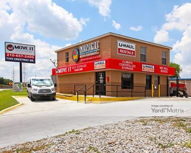 Storage Units for Rent available at 7345 Crestway Drive, San Antonio, TX 78239