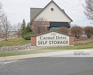 Storage Units for Rent available at 550 West Carmel Drive, Carmel, IN 46032