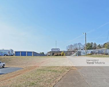 Storage Units for Rent available at 5456 University Pkwy, Winston-Salem, NC 27105