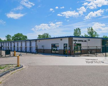 Storage Units for Rent available at 11880 Central Avenue NE, Blaine, MN 55434