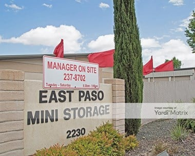Image for East Paso Mini Storage - 2230 Golden Hill Road, CA