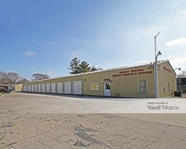 Storage Units for Rent available at 1310 Jefferson Avenue, Shelbyville, IN 46176